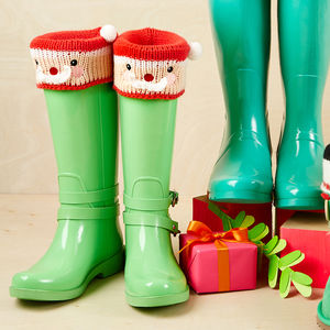 Christmas Boot Toppers