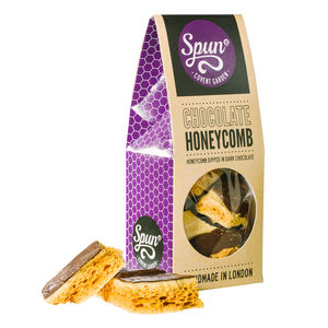 Dark Chocolate Honeycomb - chocolates & confectionery