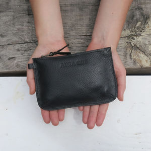 Leather Pari Zip Purse - purses & wallets