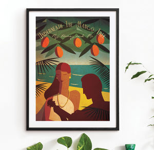 'Underneath The Mango Tree' Art Print