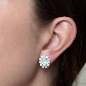 Crystal Marquise Bridal Earrings