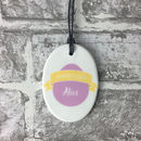 Personalised Happy Easter Decoration