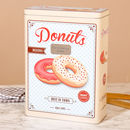 Personalised Vintage Donuts Storage Tin