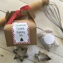 Personalised Christmas Baking Kit