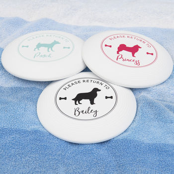 Personalised Pet Frisbee