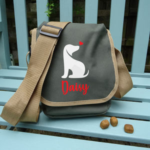 Personalized Dog Walker's Bag