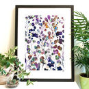 Botanica Abstract Floral Fine Art Giclée Print | A4 A3