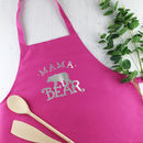 Ladies Mama Bear Apron