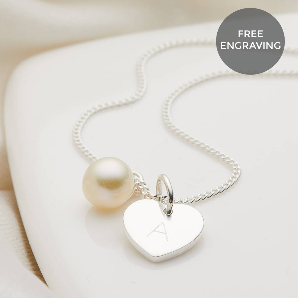 Personalised My First Pearl Necklace