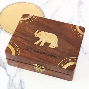 Personalised Wooden Elephant Box - what's new