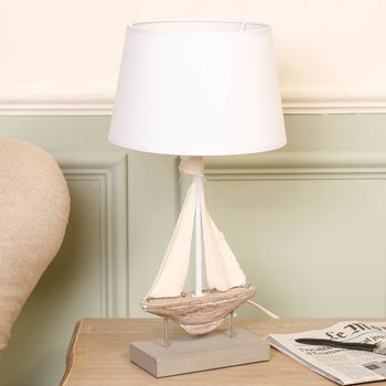 French Nautical Sailboat Lamp