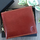 Men's Rich Tan Leather Wallet