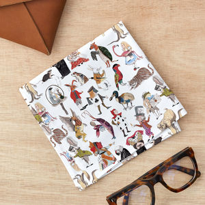 Alice In Wonderland Handkerchief Pocket Square