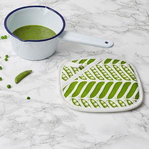 Pea Pod Pot Holder - new in home