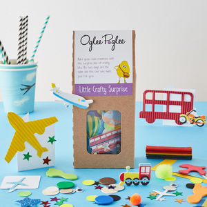 Boys Craft Party Bags