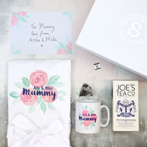 Personalised Rose Hamper Box - gifts from older children
