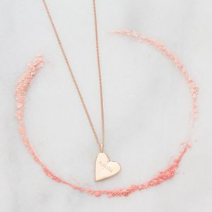 Personalised Marci Sterling Silver Heart Necklace - shop by category