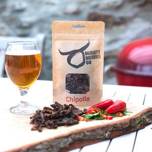 Welsh Wagyu Beef Biltong Chipotle Set Of Three - brand new partners