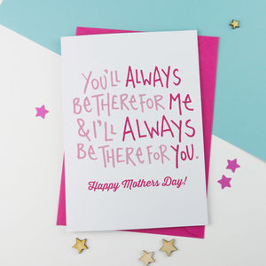 Always There Mother's Day Card - mother's day cards
