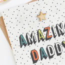 Daddy Father's Day Card