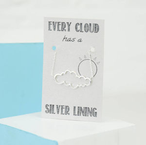 Every Cloud Has A Silver Lining Bracelet