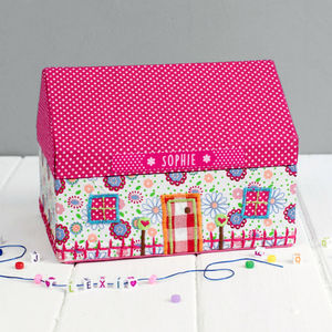 Personalised Dolls House Jewellery Box