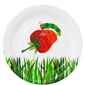 Pack Of 12 Hungry Caterpillar Paper Party Plates