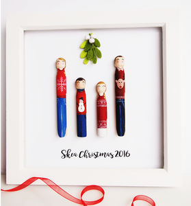 Christmas Peg Portrait - shop by price