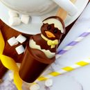 Easter chocolate spoon