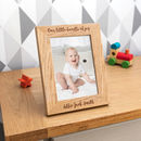 Personalised Bundle Of Joy New Baby Photo Frame