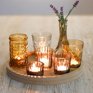 Coffee Table Candle Display - candles & home fragrance