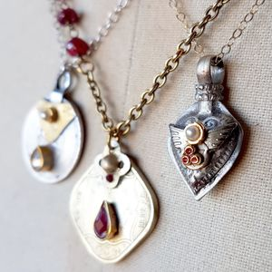 Heart Charm Necklace - tokens & keep sakes