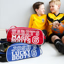 Personalised Football Boot Bag