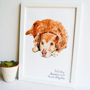 Personalised Pet Portrait Original Acrylic Painting - animals & wildlife