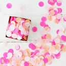Pink Tone Party Confetti In A Box