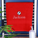 Personalised Children's Sports Towel