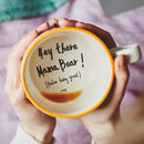 Hey There Mama Bear! Handmade Hidden Message Mug