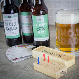 Fathers Day Ale And Games Gift Box