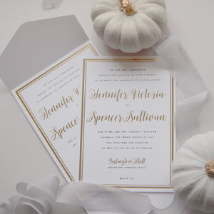 Sullivan Wedding Suite - invitations