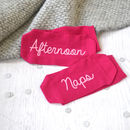 Afternoon Naps Women's Slogan Socks