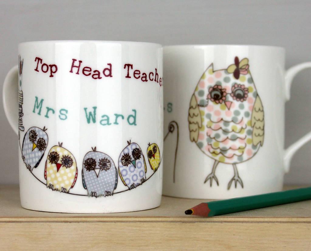 Teacher, Assistant Or Childminder Personalised Mug