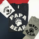 Papa Bear And Little Bear, Daddy And Me T Shirt Set