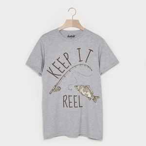 Keep It Reel Men's Fishing T Shirt - gifts for him