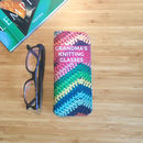 Personalised Grandmas Knitting Glasses Case