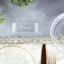 Personalised Lace Wedding Place Settings