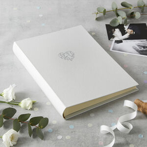 Floral Heart Photo Album Medium