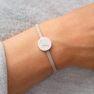 Nicia Personalised Disc Bracelet - women's jewellery