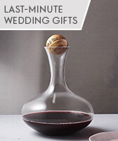 last minute wedding gifts