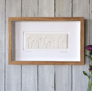 Snowdrops With Oak Frame - whatsnew