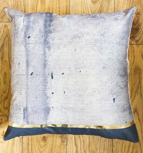 Gold Concrete Cushion - winter sale